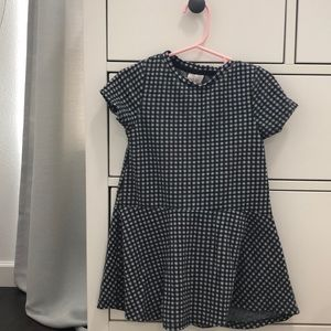 Zara 4T Plaid dress
